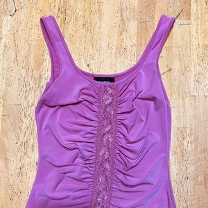 Pink, Rampage lace blouse XS